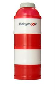 Babymoov Milk Powder Dispenser - Red ,helps to