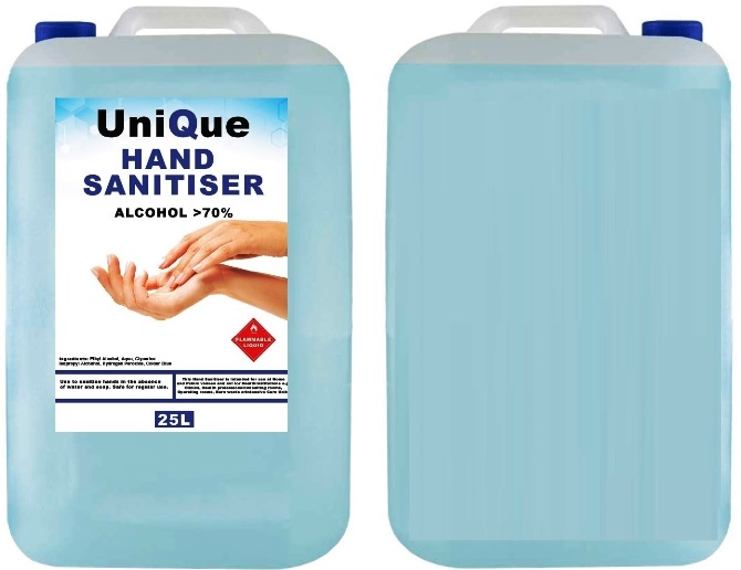 unique 25ltr sanitiser 001 Zonemarket